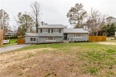 Richmond Single Family Home For Sale: 7553 Rockfalls Drive
