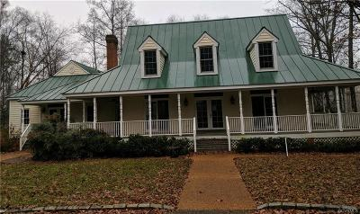 Powhatan County Single Family Home For Sale: 2429 Gobbler Ridge Road