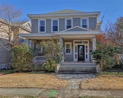 Richmond Single Family Home For Sale: 2405 Lamb Avenue