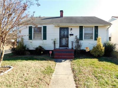 Richmond Single Family Home For Sale: 3419 Missouri Avenue