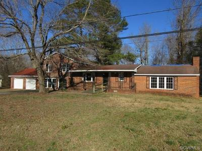 Single Family Home For Sale: 14530 Rockahock Road