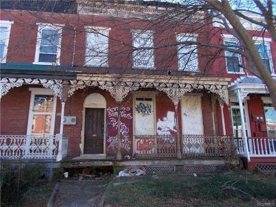 Richmond Single Family Home For Sale: 805 West Clay Street