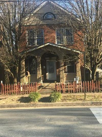 Richmond Single Family Home For Sale: 2721 5th Avenue