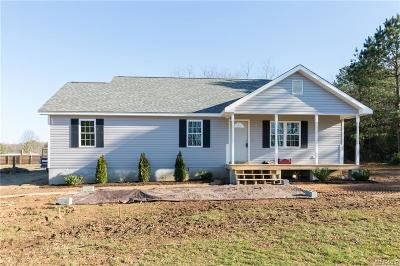 Hanover County Single Family Home For Sale: 11410 Watkins Road