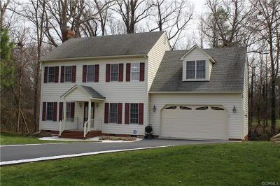 Mechanicsville VA Single Family Home For Sale: $349,950