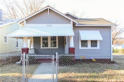 Richmond Single Family Home For Sale: 1616 Rogers Street