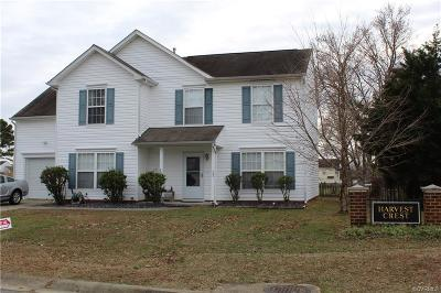 Henrico County Single Family Home For Sale: 1401 Harvest Crest Court