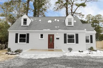 Richmond Single Family Home For Sale: 7115 Horsepen Road