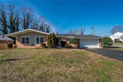 Richmond Single Family Home For Sale: 2604 Norwood Court