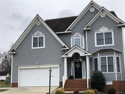 Chester VA Single Family Home For Sale: $289,900