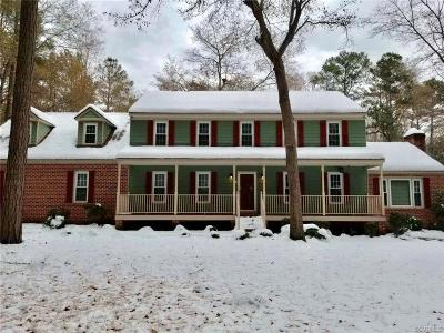 Chesterfield County Rental For Rent: 6620 Glebe Point Road