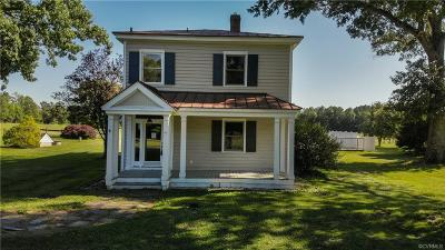 Hanover County Single Family Home For Sale: 11479 Mount Hope Church Road