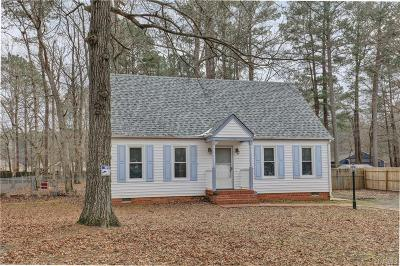 Chesterfield County Single Family Home For Sale: 19509 Foxbrook Drive