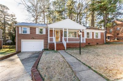 Dinwiddie Single Family Home For Sale: 905 Center Avenue
