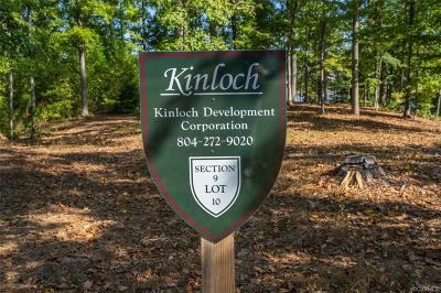 Goochland County Residential Lots & Land For Sale: 918 Kinloch Point Lane