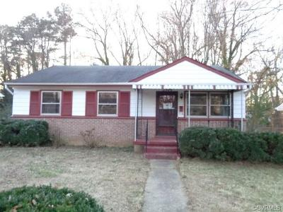 Richmond Single Family Home For Sale: 3309 Lynhaven Avenue