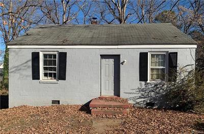 Henrico Single Family Home For Sale: 7302 Bowler Street