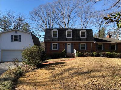 King William County Single Family Home For Sale: 4030 Dogwood Drive