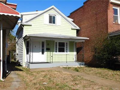 Richmond Single Family Home For Sale: 526 Arnold Avenue