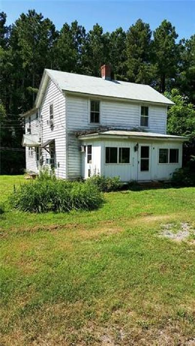 Single Family Home For Sale: 236 Chesapeake Beach Road