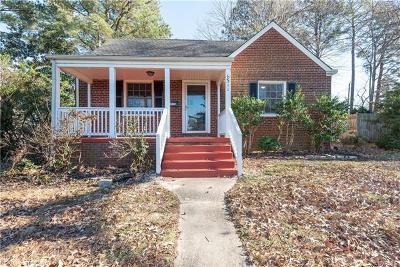 Richmond Single Family Home For Sale: 6311 Morningside Drive