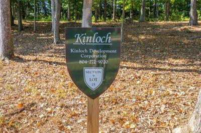 Goochland County Residential Lots & Land For Sale: 911 Kinloch Point Lane