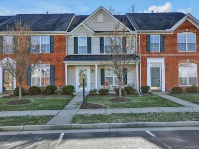 Glen Allen Condo/Townhouse For Sale: 4218 Wellston Place