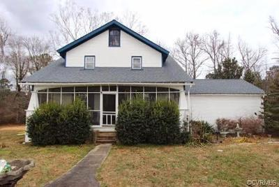 Chesterfield County Single Family Home For Sale: 3820 Whitehouse Road