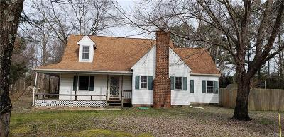 Henrico County Single Family Home For Sale: 2500 Meadow Road