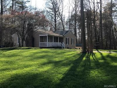 Goochland County Single Family Home For Sale: 1695 Sheppard Town Road