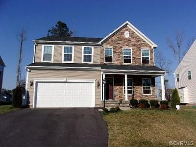 Chesterfield Single Family Home For Sale: 8807 Proctors Run Drive