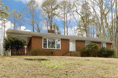 Richmond Single Family Home For Sale: 7513 Cherokee Road