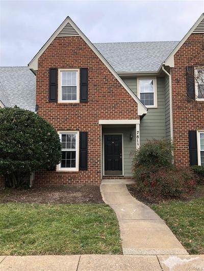 Henrico Condo/Townhouse For Sale: 7811 Camolin Court