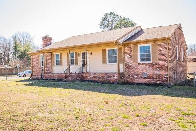 Mechanicsville Single Family Home For Sale: 6617 Rural Point Road