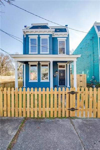 Richmond Single Family Home For Sale: 1015 N 35th Street