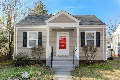 Richmond Single Family Home For Sale: 1714 Rogers Street