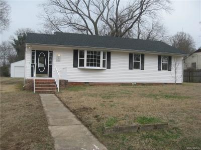 Richmond Single Family Home For Sale: 4203 Fayette Circle
