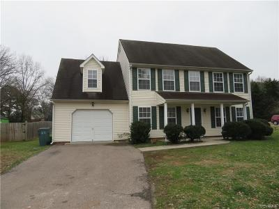 Henrico Single Family Home For Sale: 2501 Cabell Ridge Court