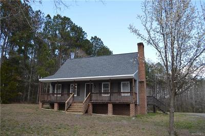 Dinwiddie County Single Family Home For Sale: 8207 Courthouse Road