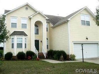 Chesterfield VA Single Family Home For Sale: $289,900