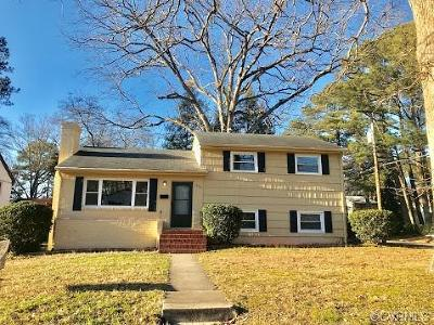 Petersburg Single Family Home For Sale: 1900 Burks Street