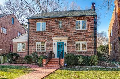 Richmond Single Family Home For Sale: 4305 West Franklin Street