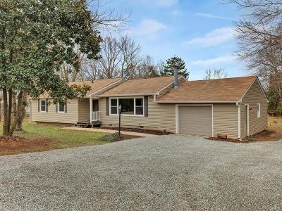 Powhatan County Single Family Home For Sale: 4325 Worsham Road