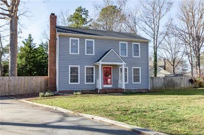 Chesterfield VA Single Family Home For Sale: $219,950