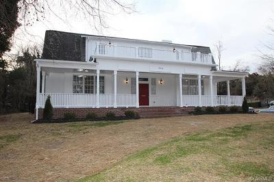 Richmond Single Family Home For Sale: 3018 Chamberlayne Avenue
