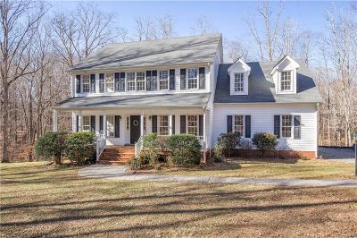 Powhatan County Single Family Home For Sale: 3388 Medway Lane
