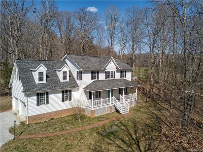 Goochland Single Family Home For Sale: 3898 Old Stage Road