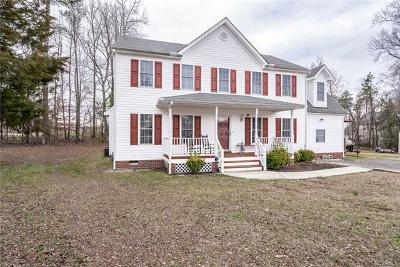 Colonial Heights VA Single Family Home For Sale: $248,500