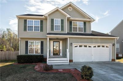 Chesterfield VA Single Family Home For Sale: $233,000