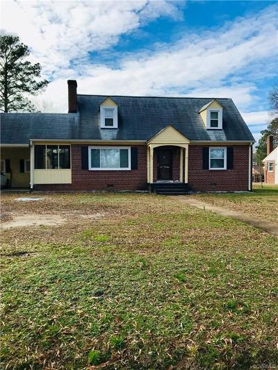 Richmond Single Family Home For Sale: 618 Shelby Drive